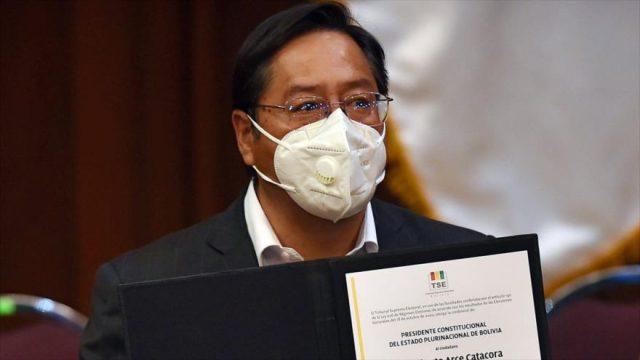 Maduro y Fernández fueron invitados a toma de posesión de Luis Arce en Bolivia
