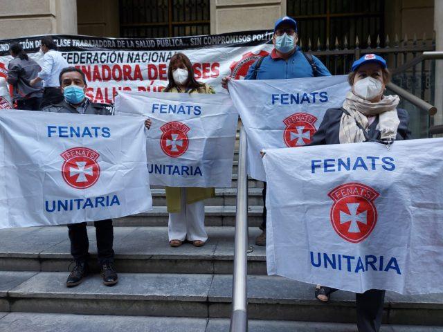 """Trabajadores de la salud anuncian paro indefinido desde este lunes hasta tener """"una respuesta decente del gobierno"""