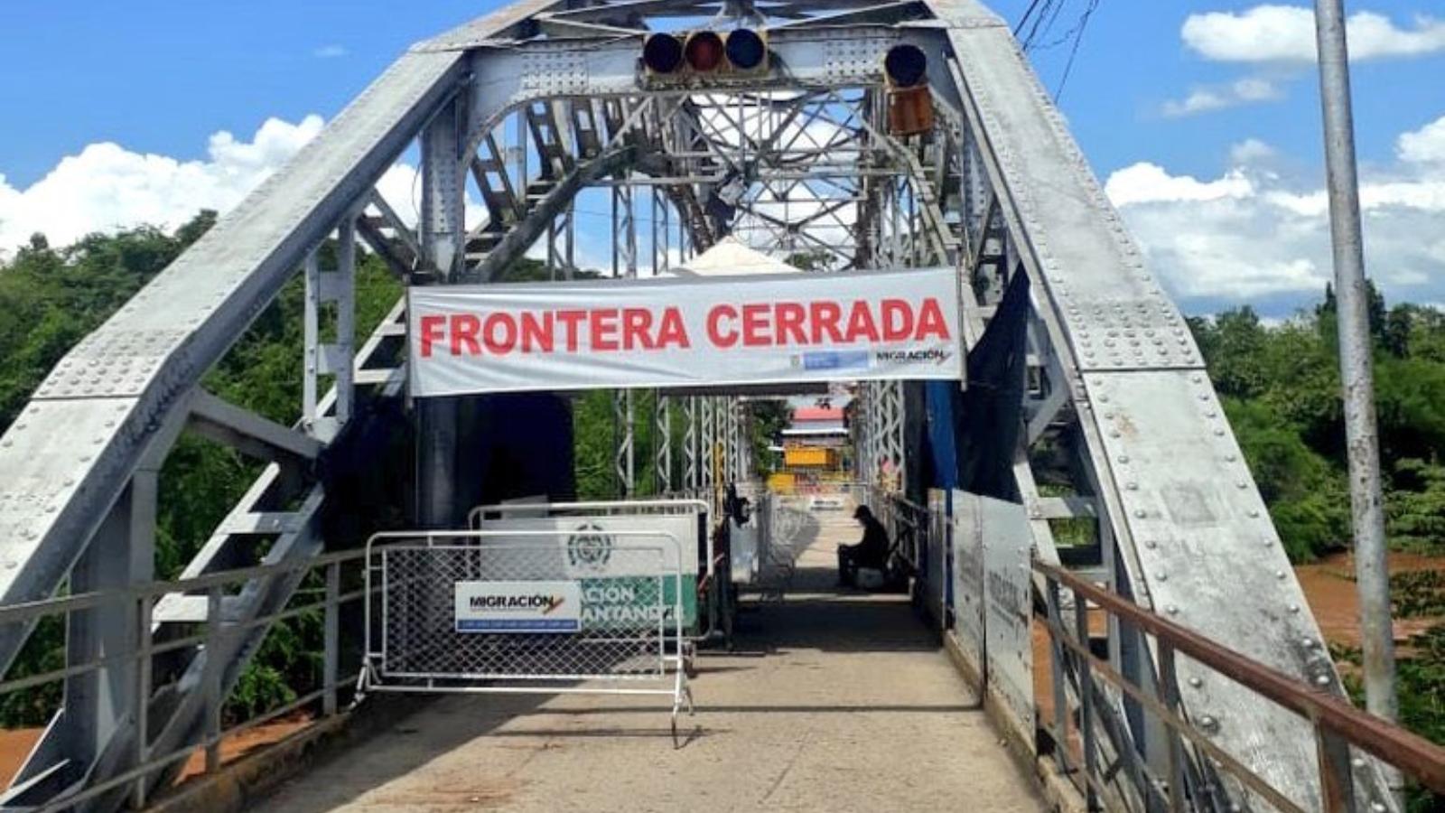 Colombia extendió cierre de fronteras con sus países vecinos hasta enero de 2021