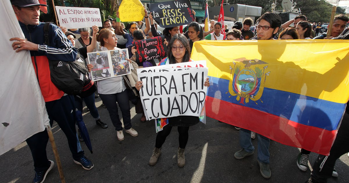 The IMF's austerity is strangling Ecuador… again
