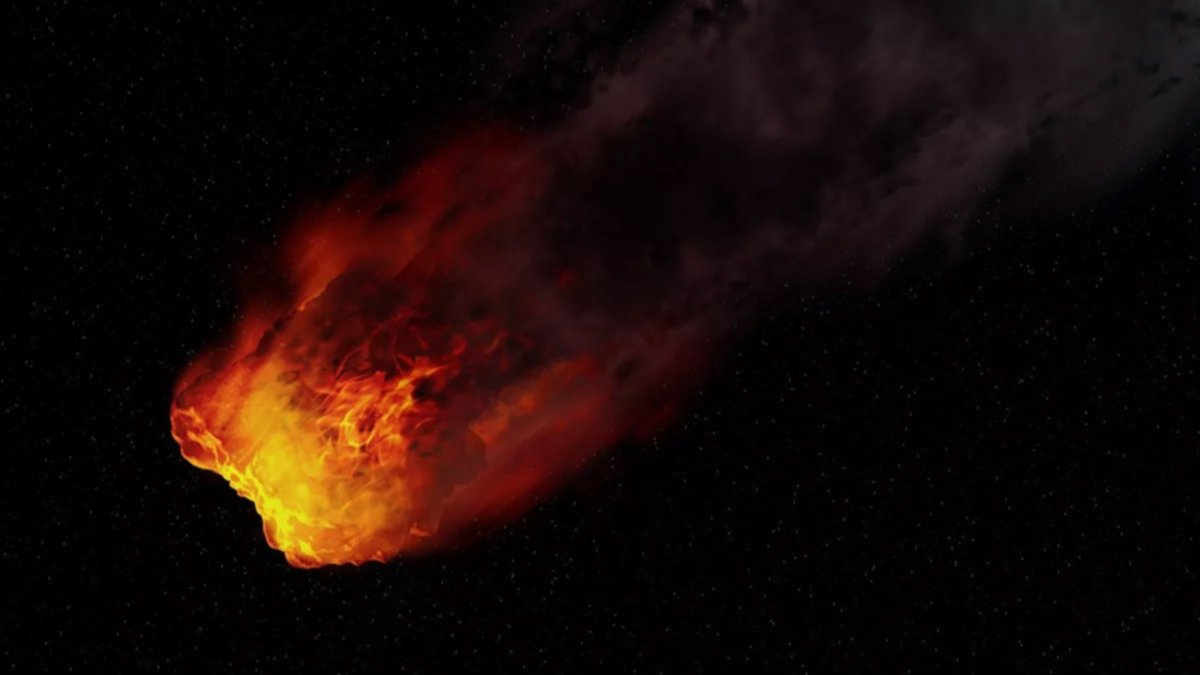 Una misteriosa bola de fuego sobrevoló por el cielo en China (+Videos)