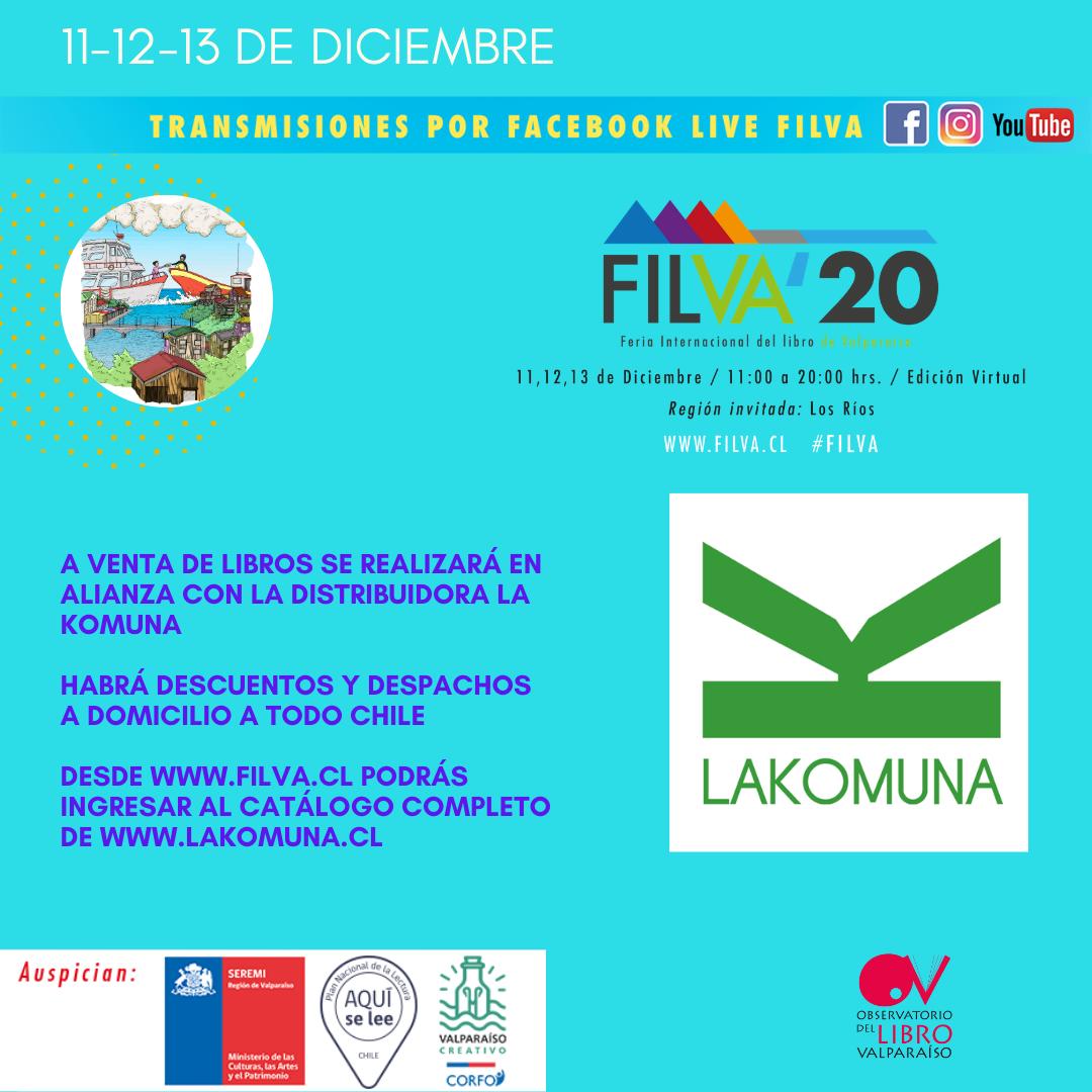 Feria Internacional del Libro de Valparaíso celebra su cuarta versión con la Región de Los Ríos como invitada