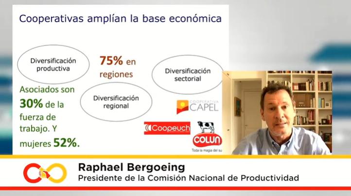 Raphael Bergoeing: «El modelo cooperativo es fundamental para imaginar Chile como país desarrollado»