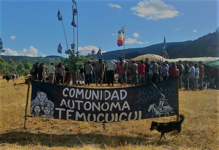 Comunidad denuncia existencia de central de espionaje electrónico en escuela municipal colindante al Lof Temucuicui