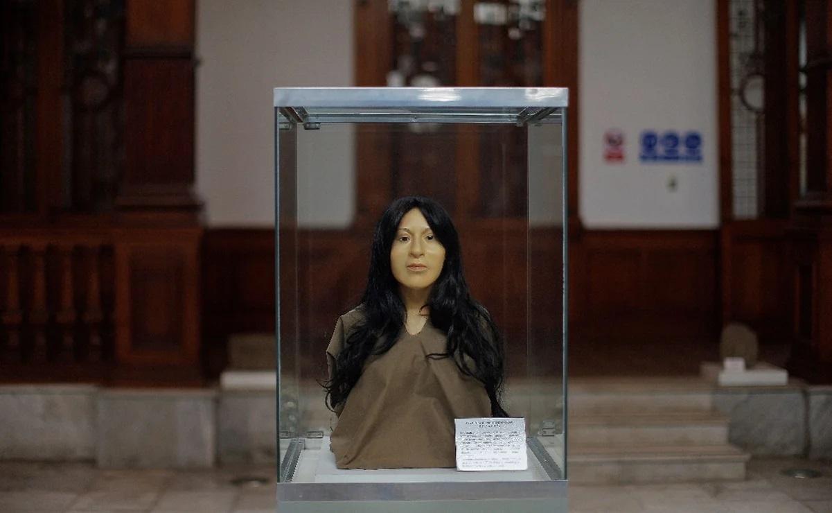 """Develan el rostro de la """"Dama de El Paraíso"""", antigua noble peruana de hace 3.700 años"""