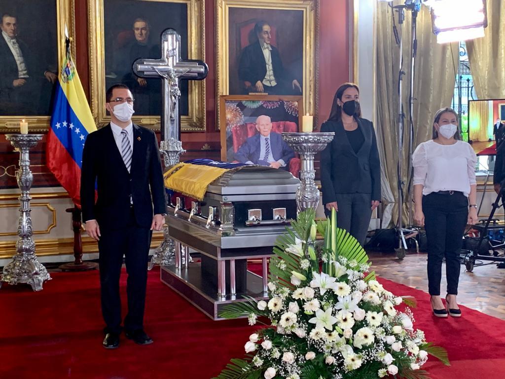 Murió exvicepresidente de Venezuela, José Vicente Rangel