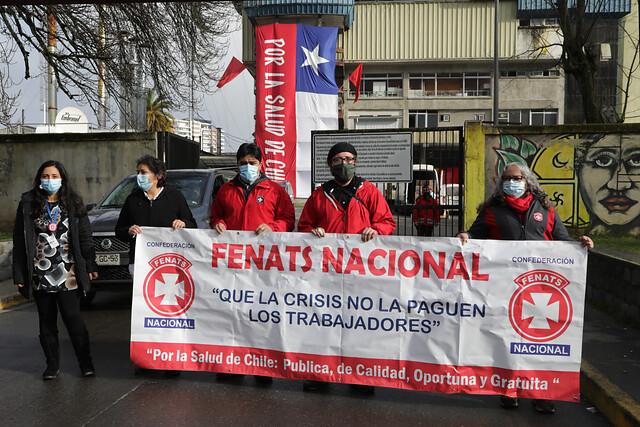 Fenats denunció falta de supervisión del Gobierno tras masivo brote de Covid en Hospital de Los Ángeles