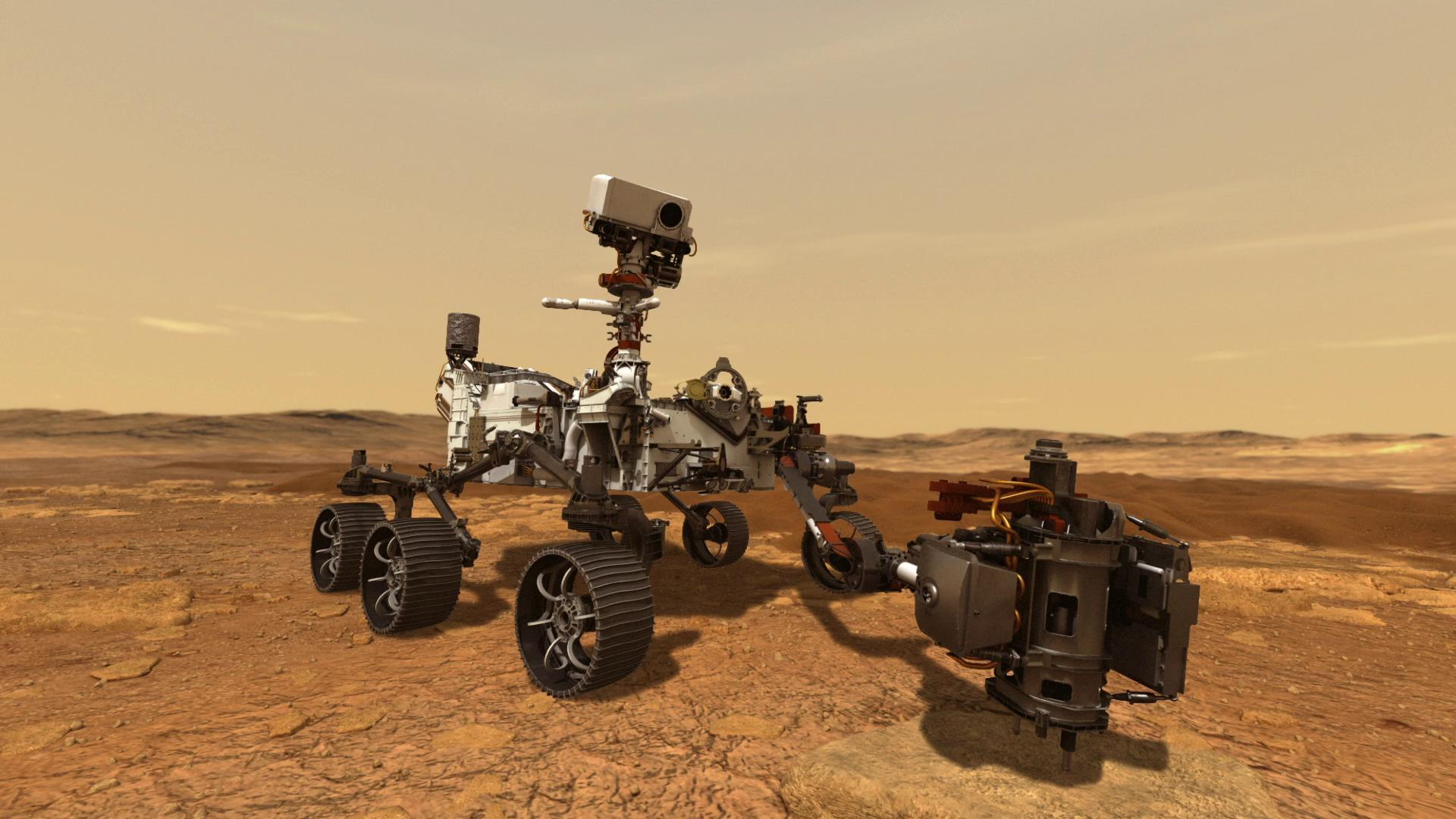 (Video) NASA divulga los primeros audios del Perseverance en Marte
