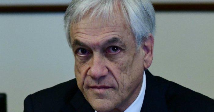 Desaprobación de Piñera sube 4 puntos en diciembre y alcanza 83%