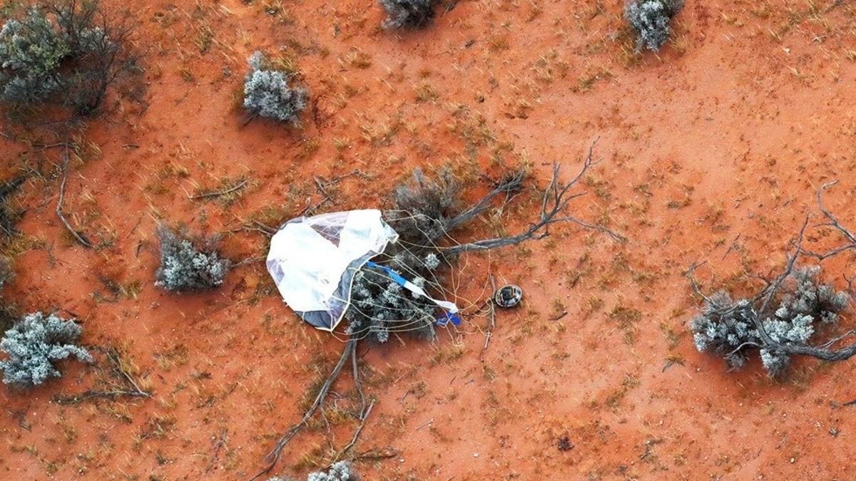 (Fotos) Regresa a la Tierra cápsula con muestras del asteroide Ryugu