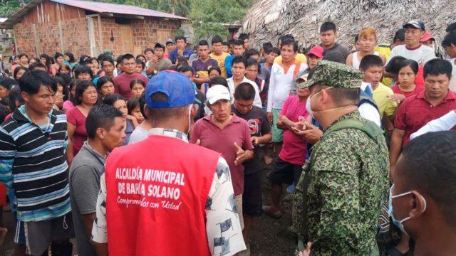 Colombia: Al menos 900 indígenas huyen del Choco tras el asesinato de su líder