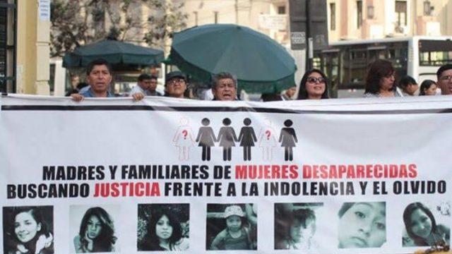 Perú registra más de 5.000 mujeres y niñas desaparecidas durante este 2020