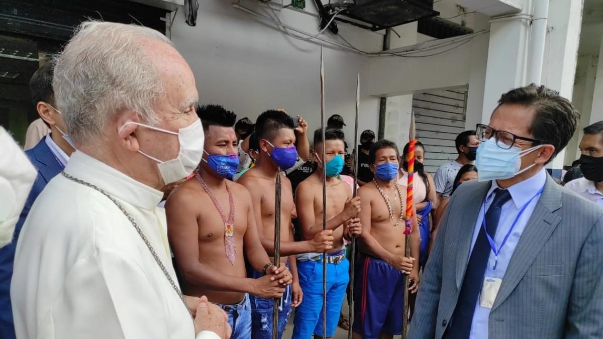 Defensoría del Pueblo denuncia robo de tierras a comunidad Épera en Ecuador