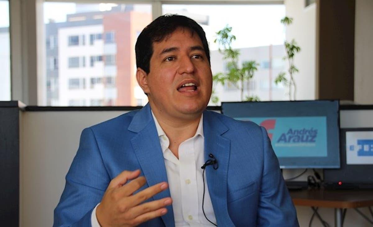 arauz lidera intencion de voto ecuador