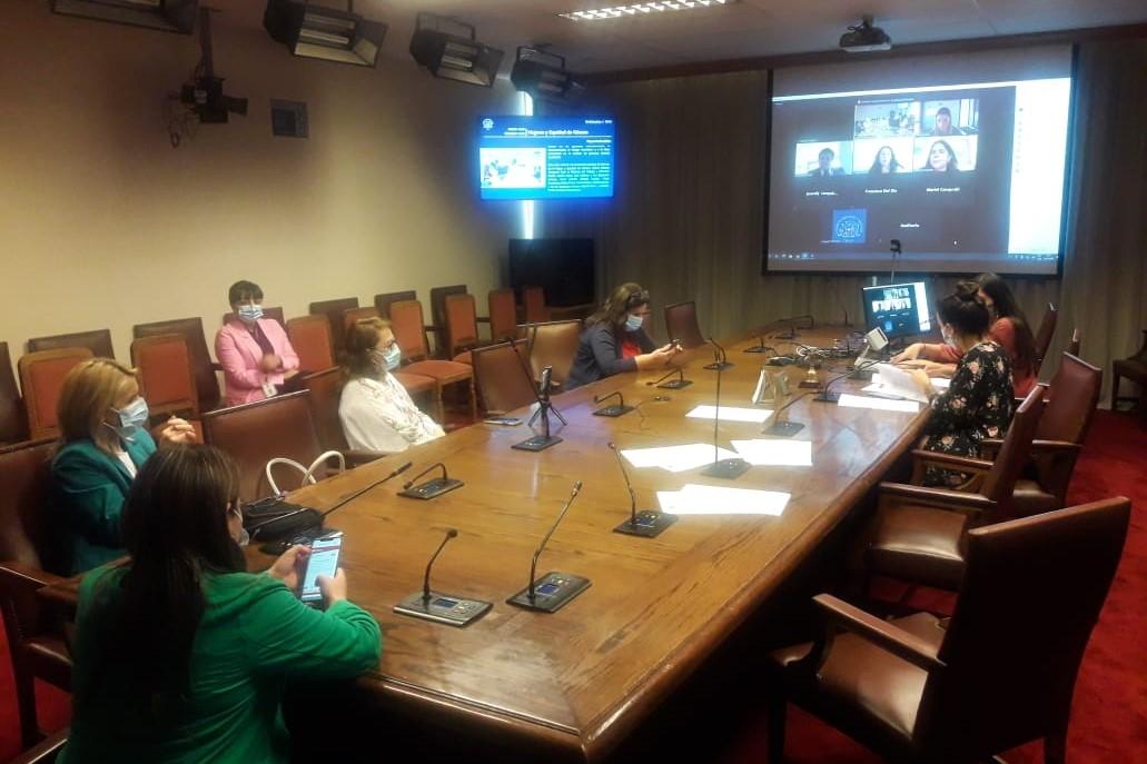 Comisión de Mujeres inició debate de proyecto para la reciprocidad de las cargas familiares