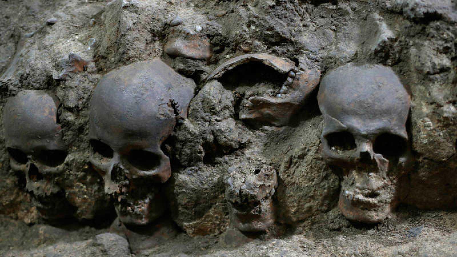 ¡Nuevo hallazgo arqueológico! Encuentran 119 cráneos debajo del centro histórico en Ciudad de México