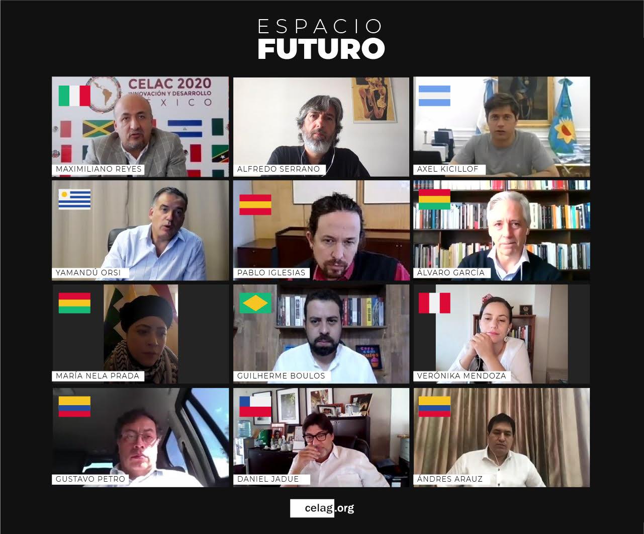 Espacio FUTURO analizó las consecuencias de la pandemia, el lawfare y las elecciones en América Latina