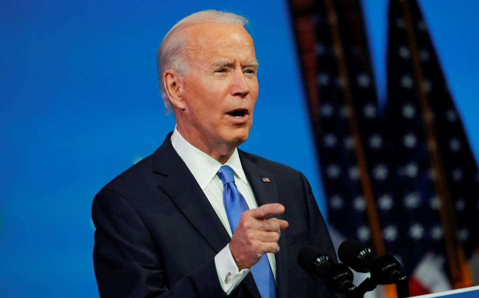 """Biden advierte que Trump desafía la Constitución y la """"voluntad popular"""" al desconocer resultados electorales"""