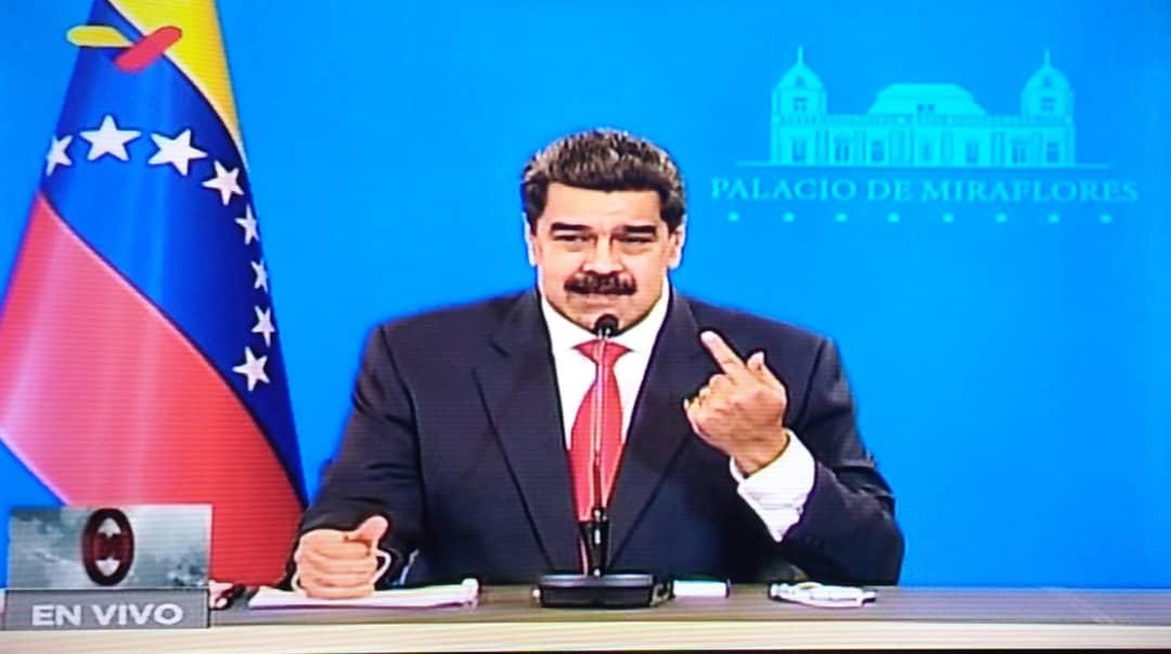 Gobierno de Venezuela frustró atentado contra Nicolás Maduro