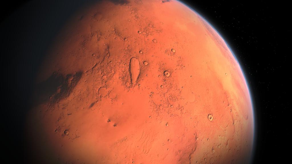 Estudio revela la región de Marte más apropiada para albergar vida