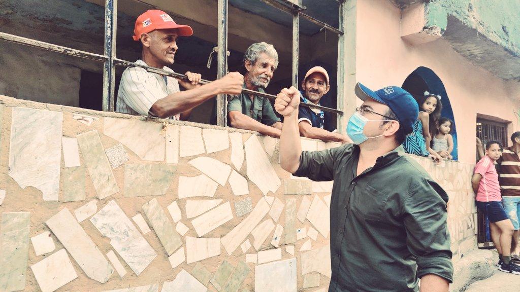 """Carlos Mogollón, candidato a la Asamblea Nacional de Venezuela: """"La Revolución Bolivariana es la lucha permanente por una vida digna para todos"""""""