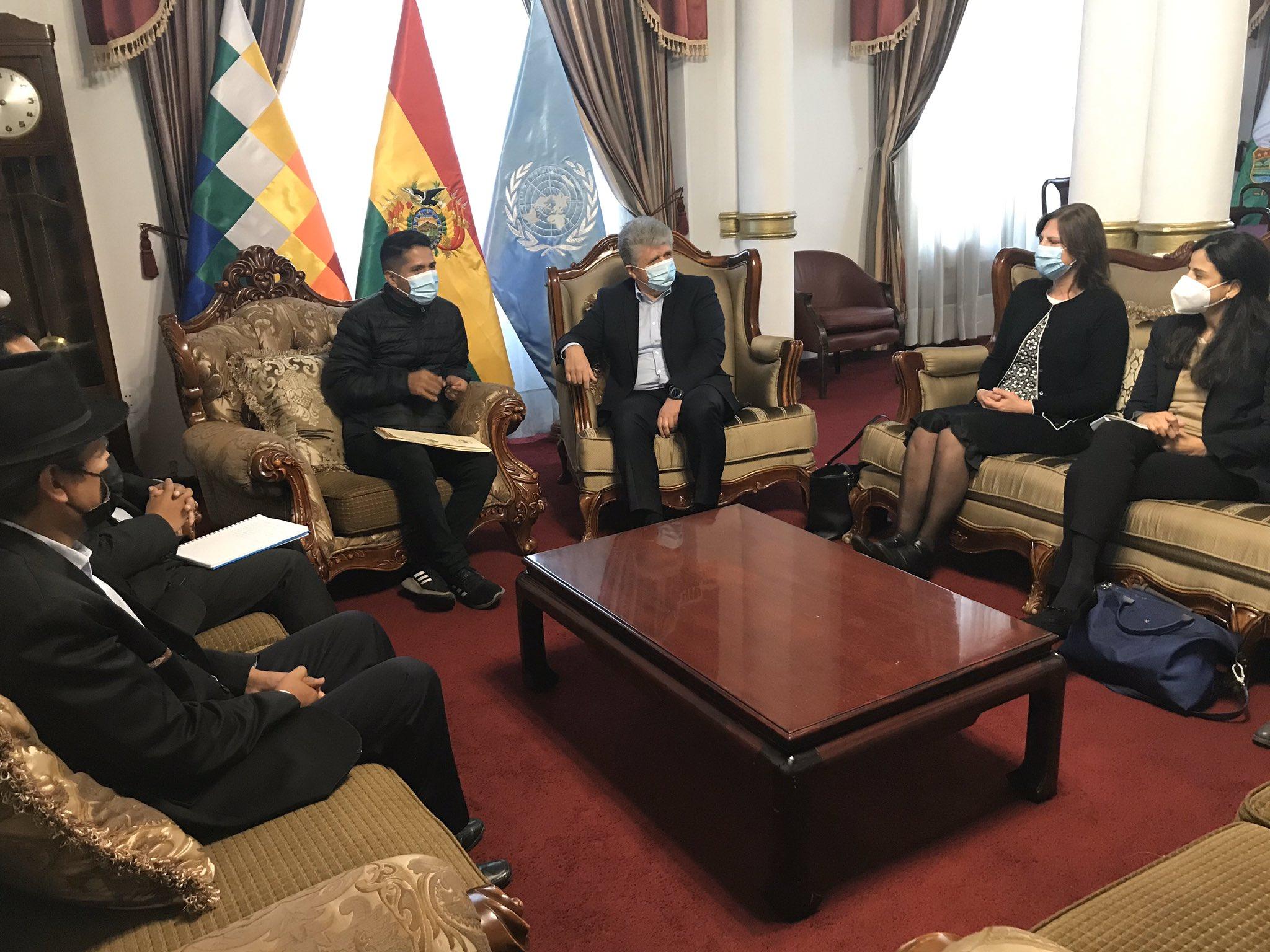 ONU dispuesta a acompañar proceso de reforma judicial que hará Bolivia