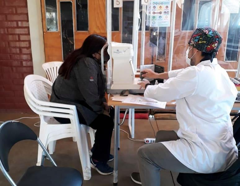 Red de Salud Popular realizó operativos de óptica móvil en los cerros de Valparaíso