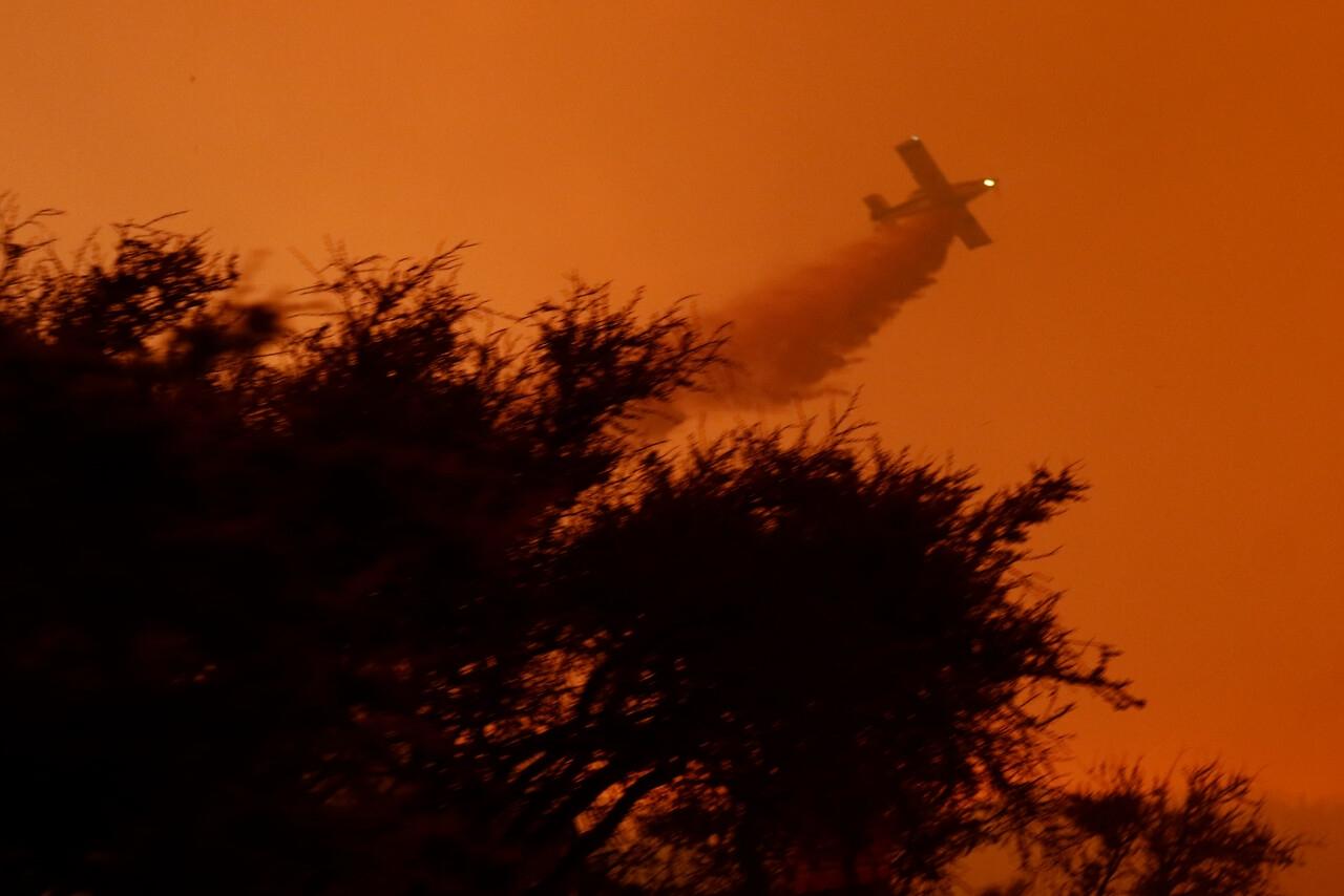 Más de 4 mil hectáreas afectadas y 7 mil familias evacuadas por incendio en Quilpué