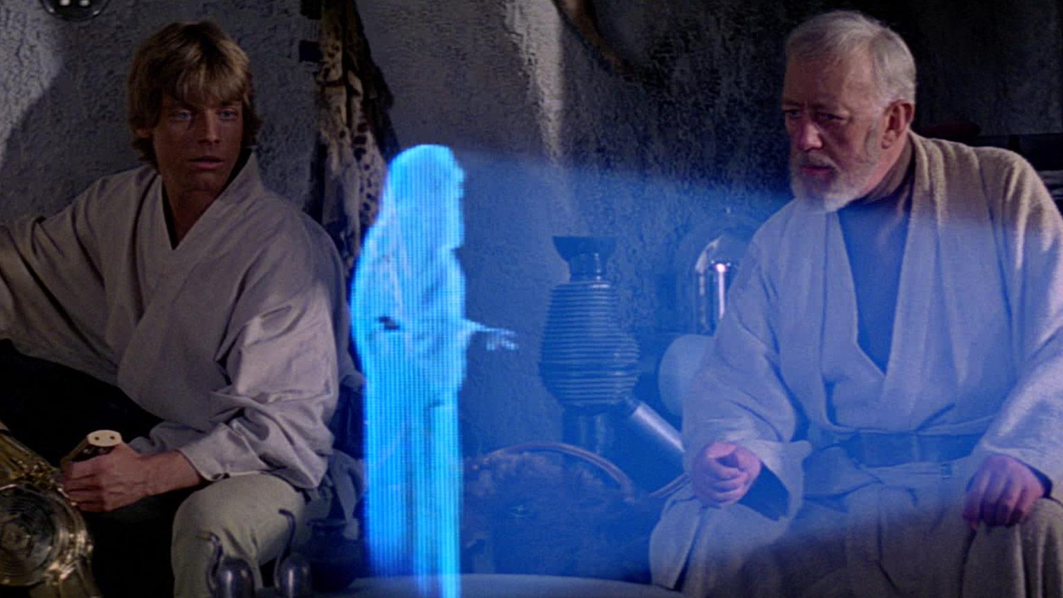 La tecnología de hologramas de 'Star Wars' ya es una realidad (+Video)