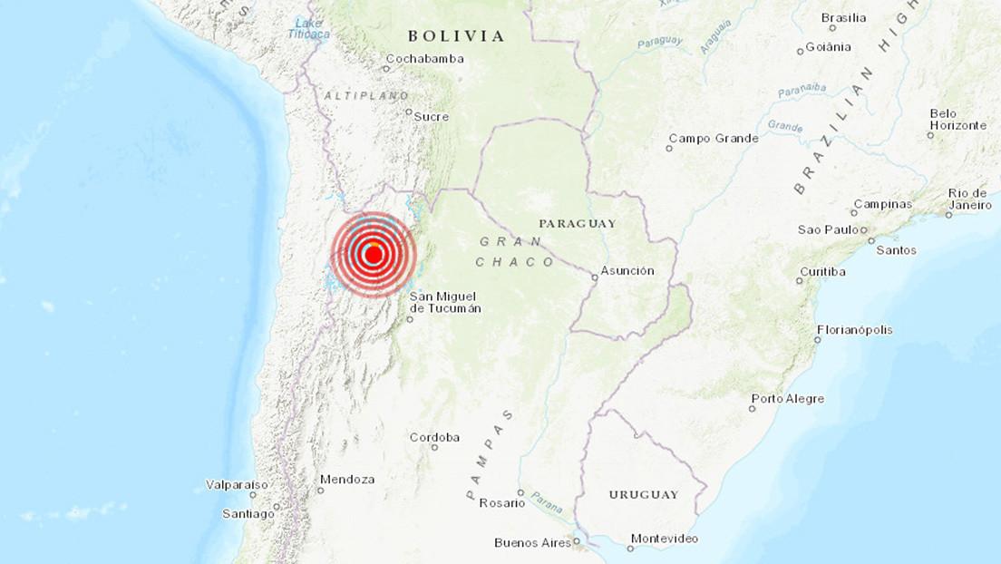 Noroeste de Argentina fue sacudido por sismo de magnitud 6,1