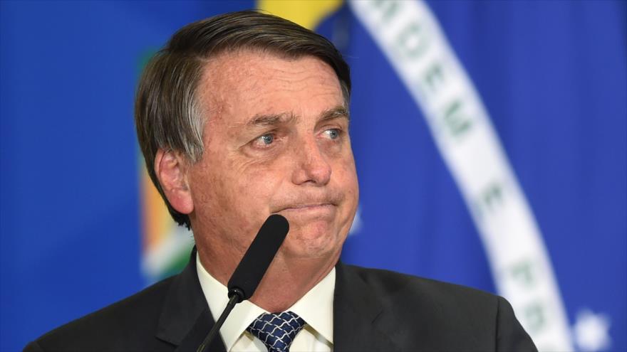 """Bolsonaro dice que Brasil """"está quebrado y no puede """"hacer nada"""""""