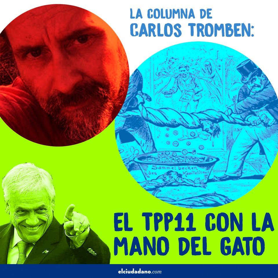 La columna de Carlos Tromben: El TPP-11 con la mano del gato