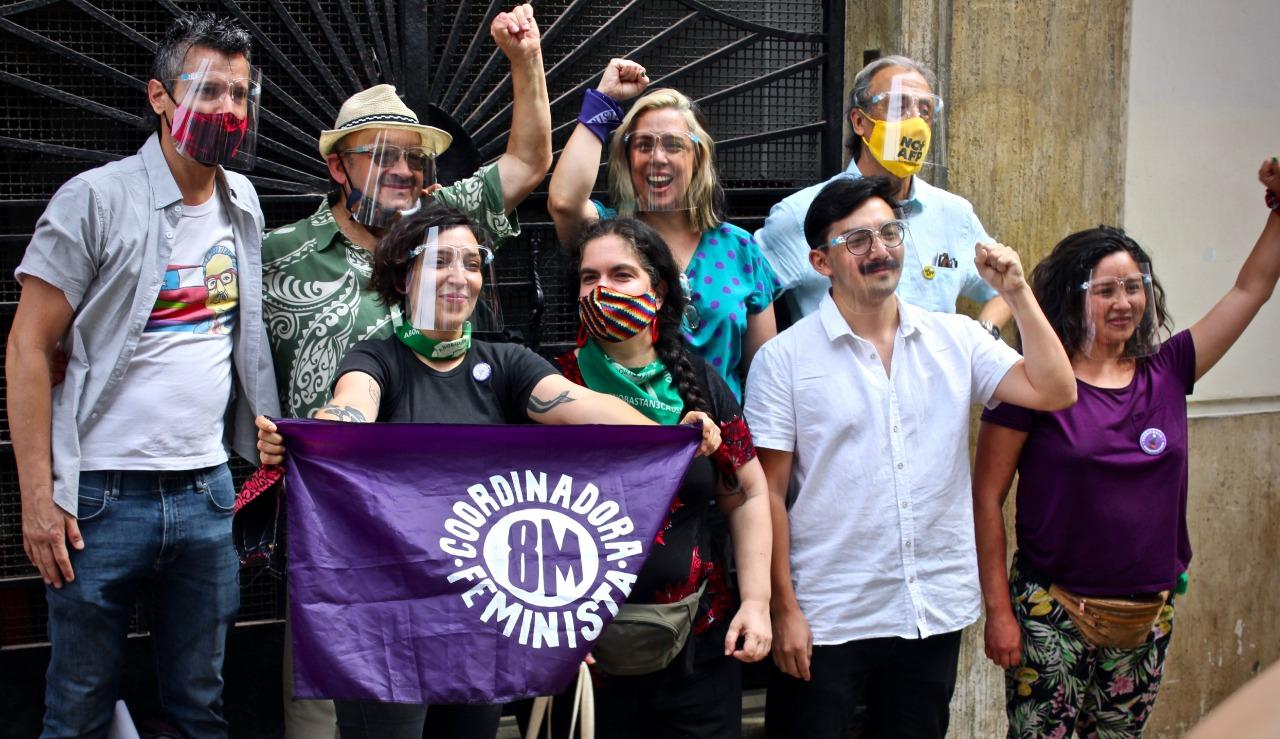 Convención Constituyente: Candidaturas de Coordinadora Feminista 8M obtuvieron más de 22 mil patrocinios