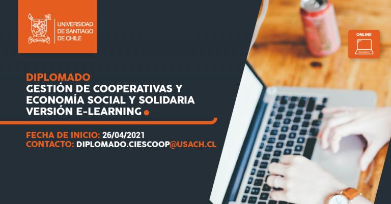 Usach abre postulaciones para el Diplomado en Gestión de Cooperativas y Economía Social y Solidaria