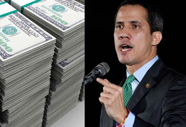 116 mil millones de dólares: el botín de Guaidó