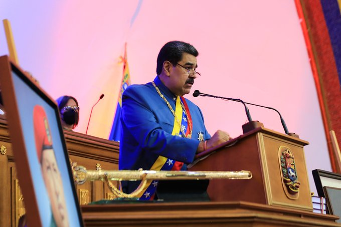 """""""Hemos vuelto"""": Maduro presenta memoria y cuenta en la Asamblea Nacional"""