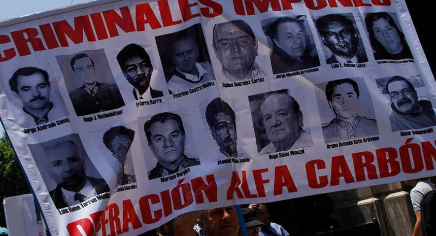 """Ministra Yolanda Méndez procesa a 8 ex agentes de la CNI por torturas a víctimas de la """"Operación Alfa Carbón"""""""
