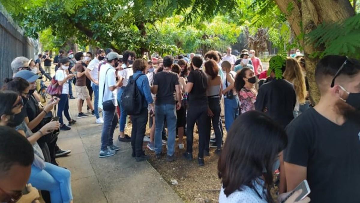 Presidente Díaz-Canel rechaza asedio al Ministerio de Cultura de Cuba