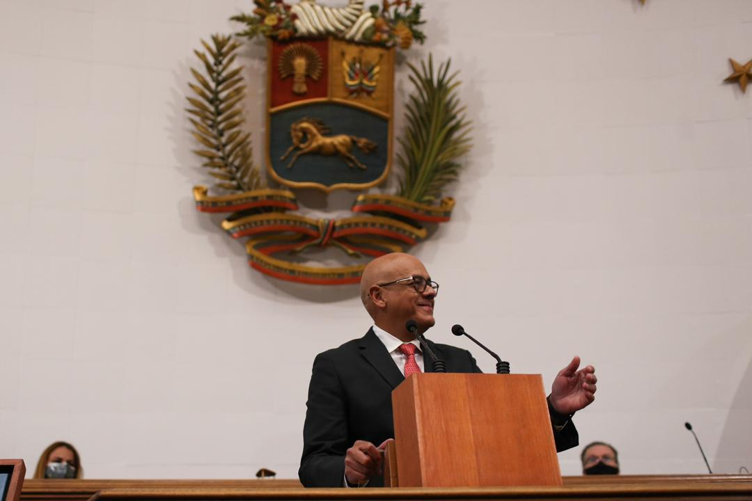 Instalaron nueva AN de Venezuela y Jorge Rodríguez juró como su presidente