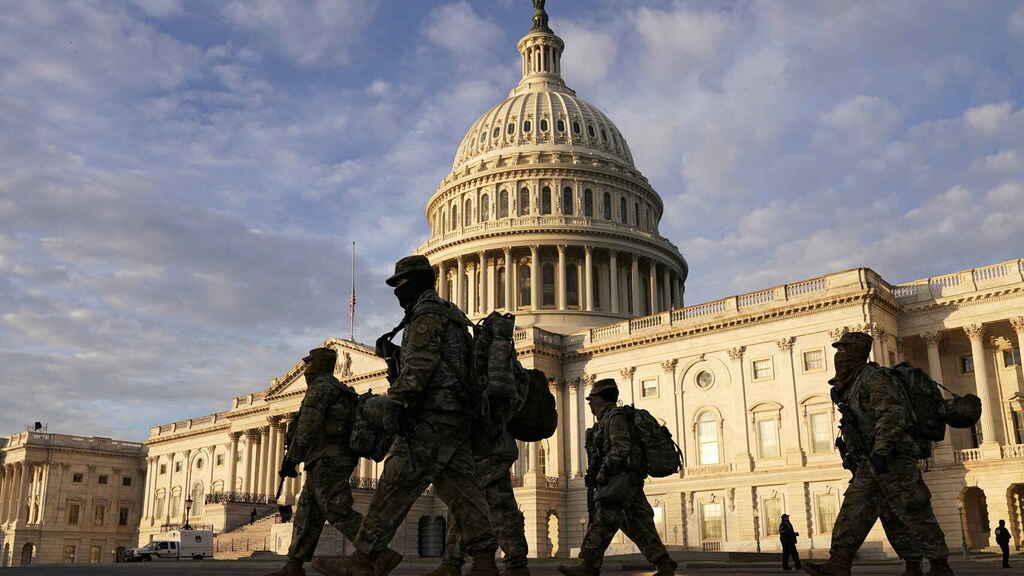 Temen nuevo brote de violencia en Washington ante inminente llegada de Biden a la Casa Blanca