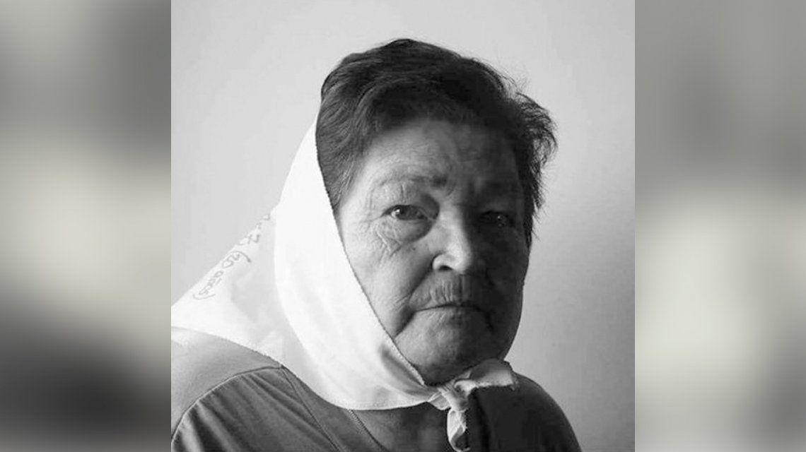 Muere Felisa N. Sotelo, integrante de Madres de Plaza de Mayo