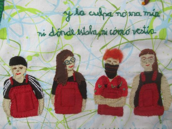 """Homenaje a """"Lastesis"""" y al movimiento feminista"""