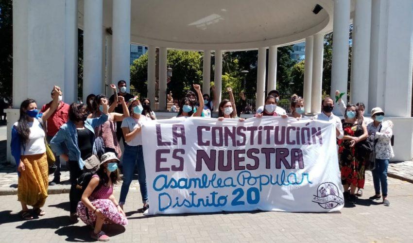 Independientes sortean obstáculos y logran  patrocinios para competir por la Convención Constitucional
