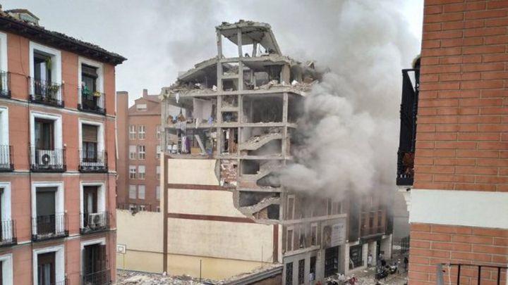 Madrid en shock por fuerte explosión que dejó al menos tres muertos