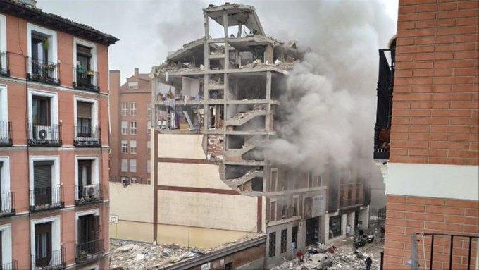 Asciende a cuatro los fallecidos por la explosión en el centro de Madrid