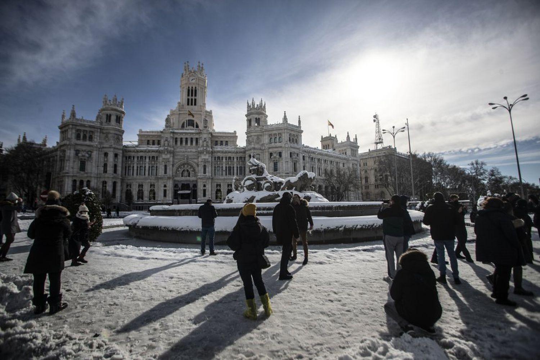 España vive su noche más fría en años con temperaturas de hasta -25 grados centígrados
