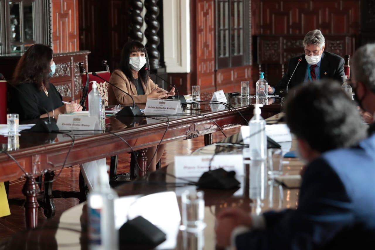 Acuerdan protocolo sanitario durante campaña electoral en Perú