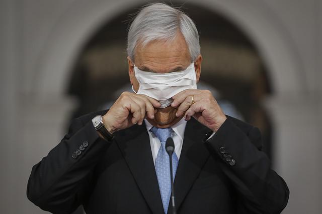 Sebastián Piñera inicia cuarentena por contacto estrecho con caso positivo de Covid-19