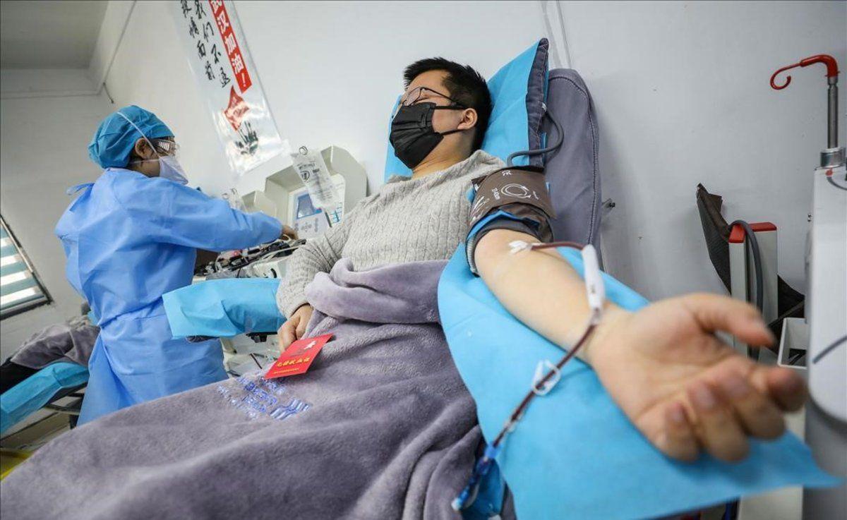 Aplicación de plasma en Paraguay evita que 30% de internados con covid-19 usen respirador