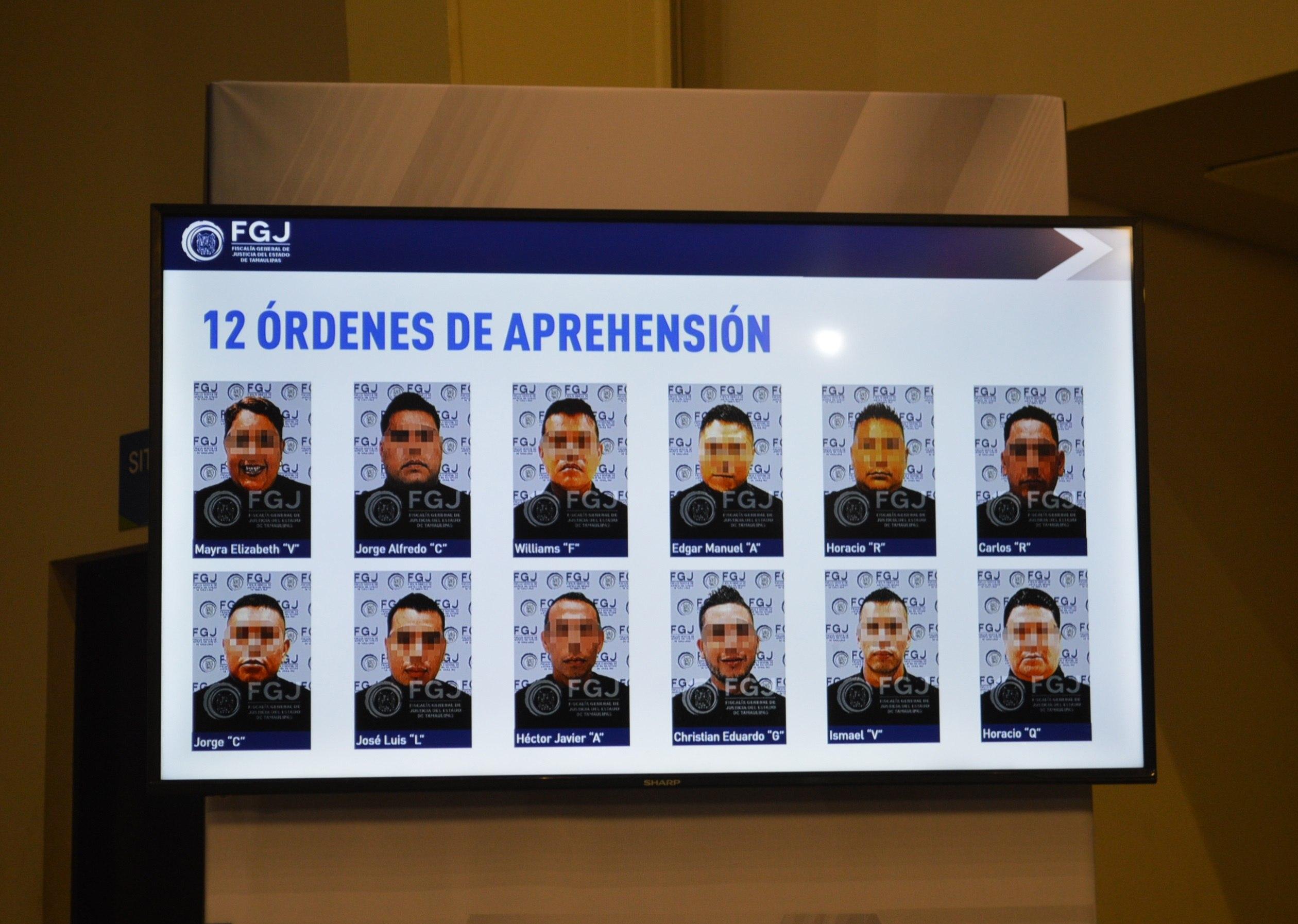 Detenidos 12 policías vinculados con masacre de migrantes centroamericanos en frontera con México